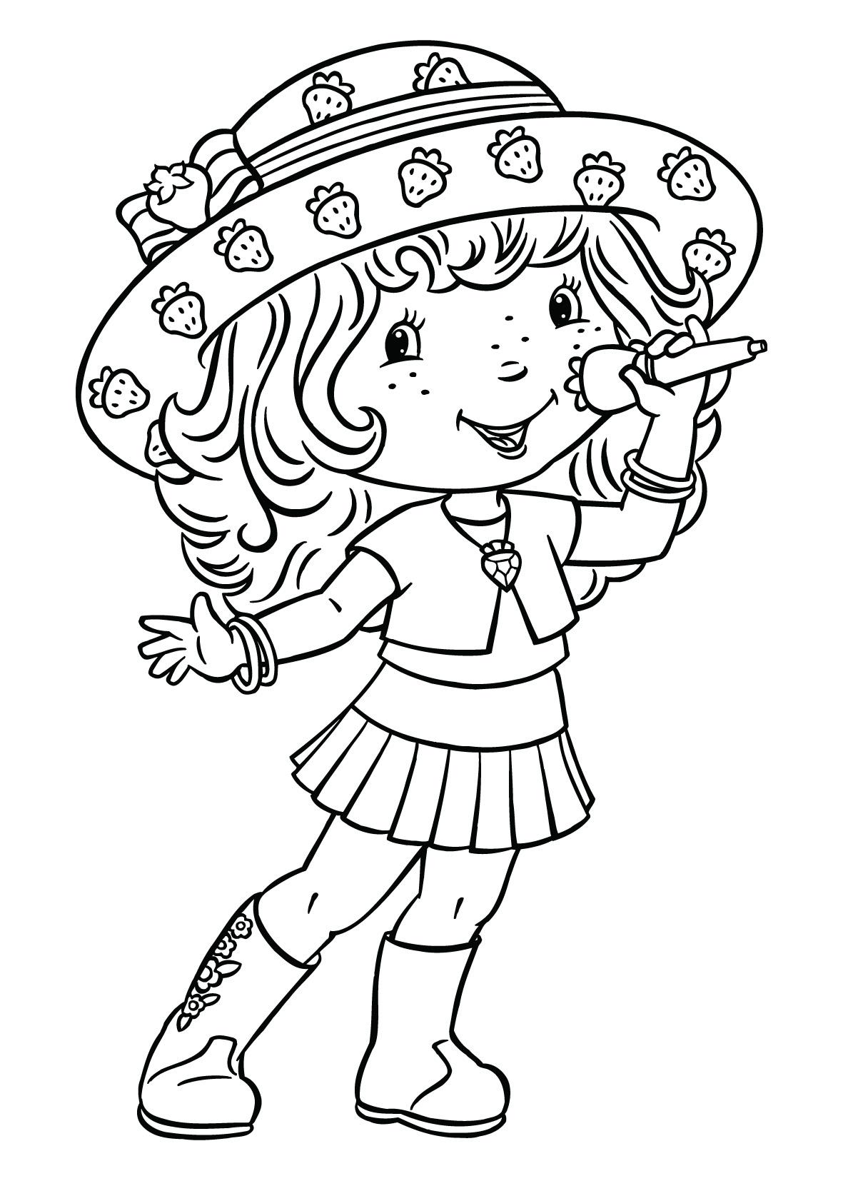 Worksheet. Dibujos para imprimir de frutillita y sus amigas  Imagui